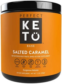perfect keto base salted caramel
