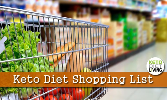 Keto Shopping Diet List